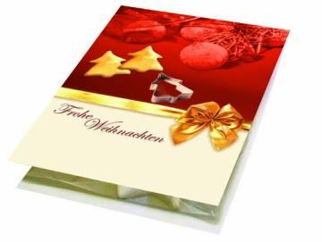 Backe Deinen Weihnachtsbaum, Förmchen Tannenbaum, 1-4 c  Digital
