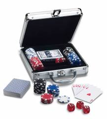 Poker game set REFLECTS GATINEAU