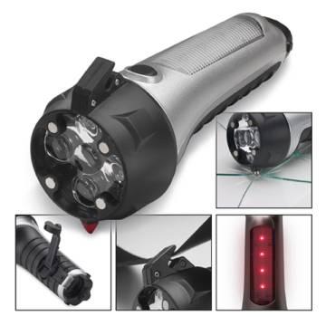 Taschenlampe mit Notfallwerkzeug