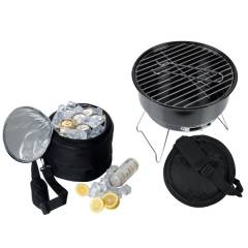 CrisMa Set aus Grill und Kühltasche