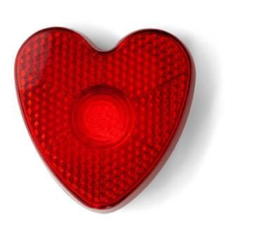 Blinkleuchte \Heart\