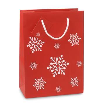 Geschenkpapiertüte Medium rot BOSSA MEDIUM
