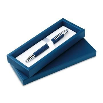 Kugelschreiber blau Remo