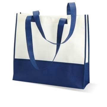Einkaufs- oder Strandtasche blau Vivi