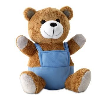 Teddybär blau Nico