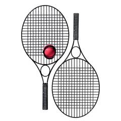 Tennis-Set Pro Black Star