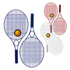 Tennis-Set Pro Colour