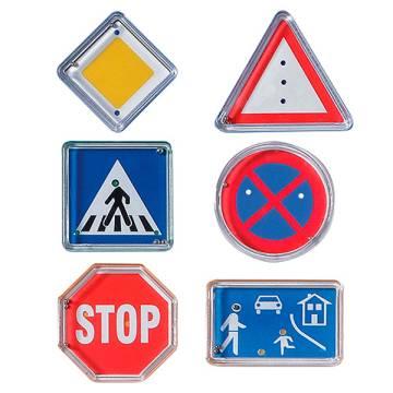 Geduldspiel-Set Verkehrszeichen
