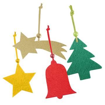 Filzanhänger Christmas