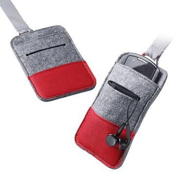Smartphone Tasche Filz