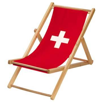 Liegestuhl Relax - Schweiz