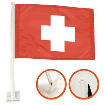 Autofahne Nations - Schweiz