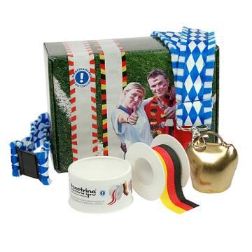 Fanset Stripe & Glocke