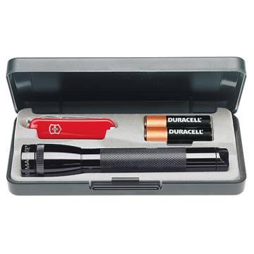 MAG-LITE® Set Mini + Schweizer Messer
