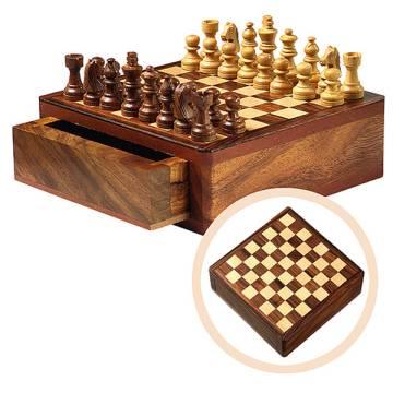 Schach-Spiel Timber