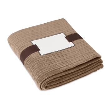Fleece-Decke khaki CAP CODE