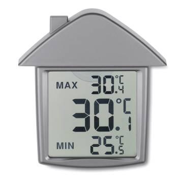 Thermometer silber matt Termohouse