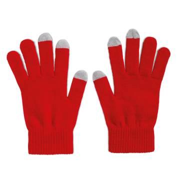 Touchscreen-Handschuhe rot TACTO