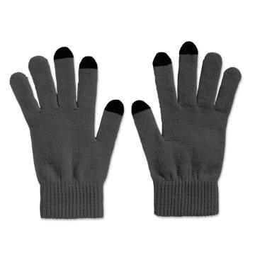Touchscreen-Handschuhe grau TACTO
