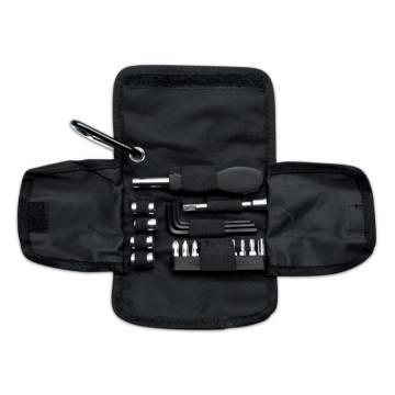 Werkzeugset schwarz Bricoset