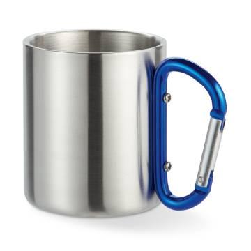 Trinkbecher blau Trumbo
