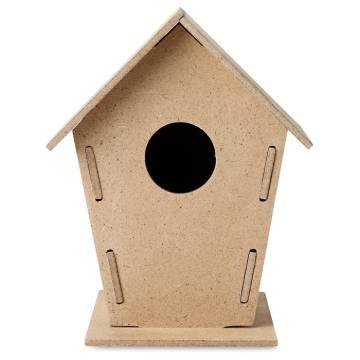 Vogelhäuschen holzfarben Woohouse