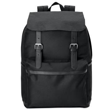 Laptop-Rucksack schwarz Padua
