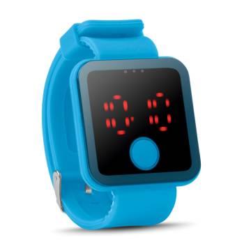 LED Armbanduhr türkis Redtime