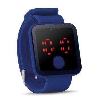 LED Armbanduhr königsblau Redtime