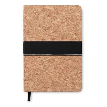 DIN A5 Notizbuch mit Kork braun Suro