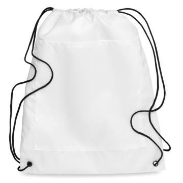 Kühltasche mit Tunnelzug weiß Carrybag