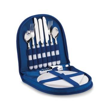 Picknick Set königsblau Prima