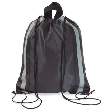 Beutel mit Kordelzug schwarz Glitterbag