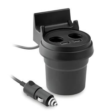 KFZ-Ladegerät schwarz Praktic