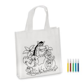 Kinder Shopping Tasche weiß Shoopie