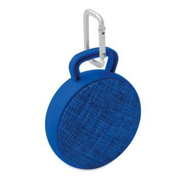 Bluetooth Lautsprecher rund königsblau Roll