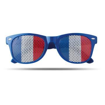 Fan Sonnenbrille königsblau Flag Fun