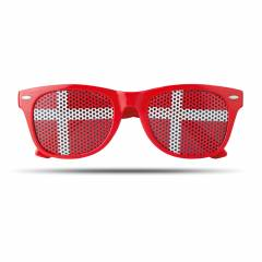 Fan Sonnenbrille bunt Flag Fun