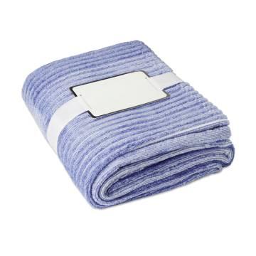 Flanell-Decke blau AROSA