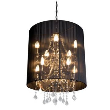 Ferraghini-Deckenlampe Kristall.